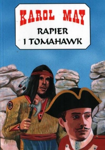 Okładka książki Rapier i tomahawk