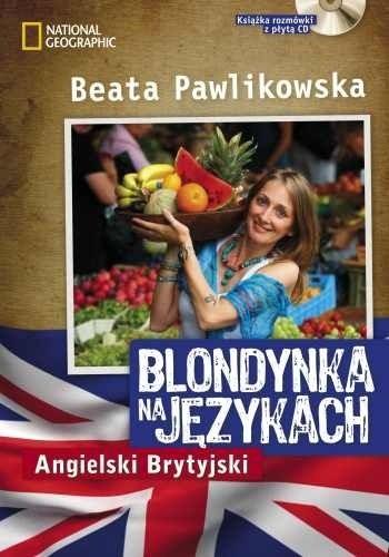 Okładka książki Blondynka na językach - Angielski Brytyjski