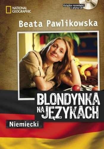 Okładka książki Blondynka na językach - Niemiecki