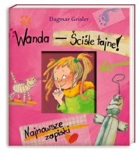 Okładka książki Wanda - ściśle tajne!