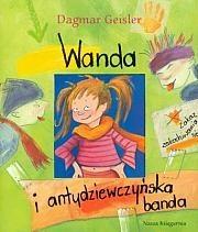 Okładka książki Wanda i antydziewczyńska banda