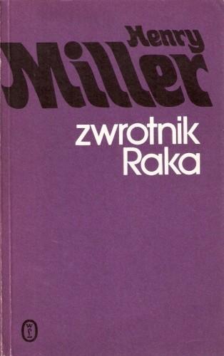 Okładka książki Zwrotnik Raka