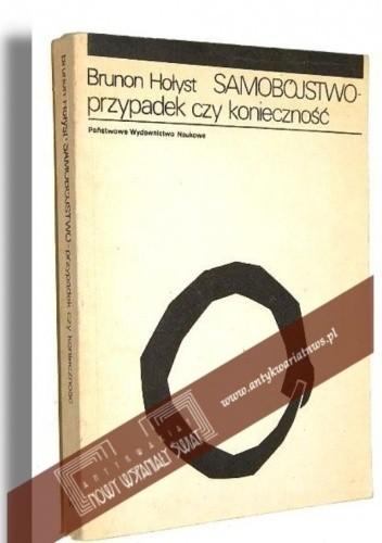 Okładka książki Samobójstwo. Przypadek czy konieczność