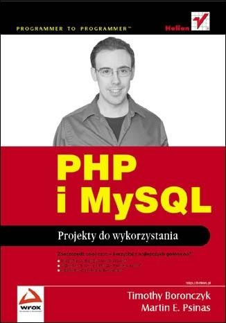 Okładka książki PHP i MySQL. Projekty do wykorzystania