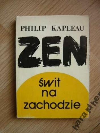 Okładka książki Zen: świt na zachodzie