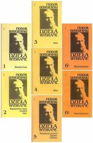 Okładka książki Dzieła wybrane tomy I-VI