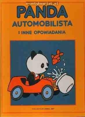 Okładka książki Panda automobilista i inne opowiadania
