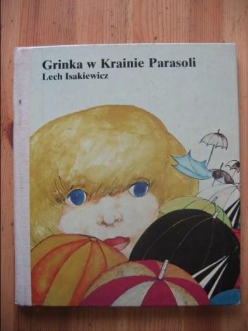 Okładka książki Grinka w Krainie Parasoli