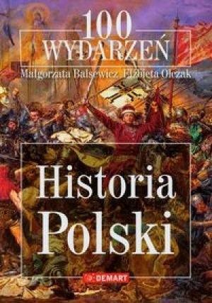 Okładka książki 100 wydarzeń Historia Polski