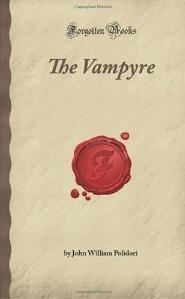 Okładka książki The Vampyre: a Tale