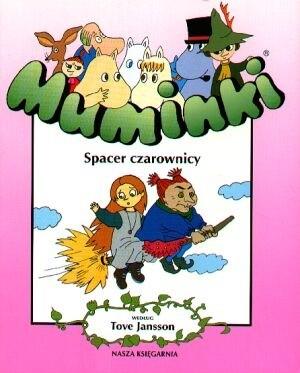 Okładka książki Muminki. Spacer czarownicy.