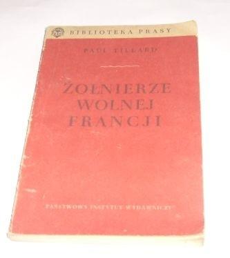 Okładka książki Żołnierze wolnej Francji