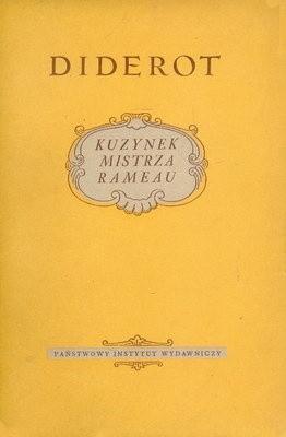 Okładka książki Kuzynek mistrza Rameau