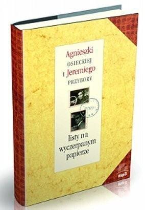 Okładka książki Listy na wyczerpanym papierze