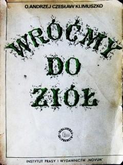Okładka książki Wróćmy do ziół