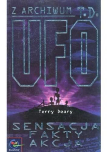 Okładka książki UFO : sensacja, fakty, akcja