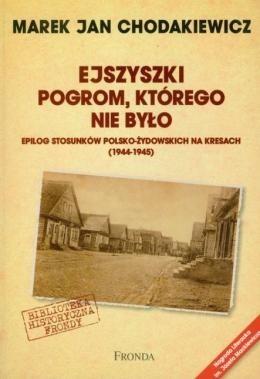 Okładka książki Ejszyszki. Pogrom którego nie było