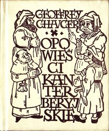 Okładka książki Opowieści kanterberyjskie