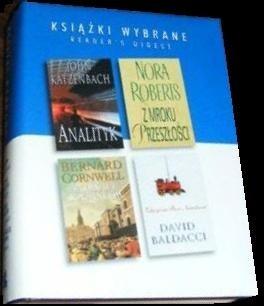 Okładka książki Analityk; Z mroku przeszłości; Złodziej skazańców; Zdążyć na Boże Narodzenie