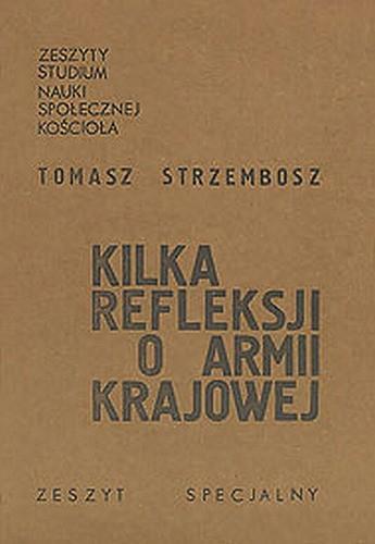 Okładka książki Kilka refleksji o Armii Krajowej