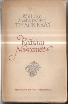 Okładka książki Rodzina Newcome'ów tom 1