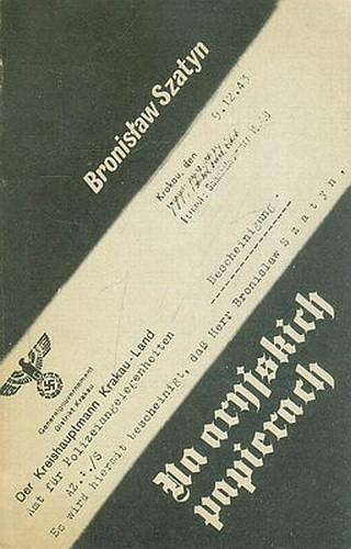 Okładka książki Na aryjskich papierach