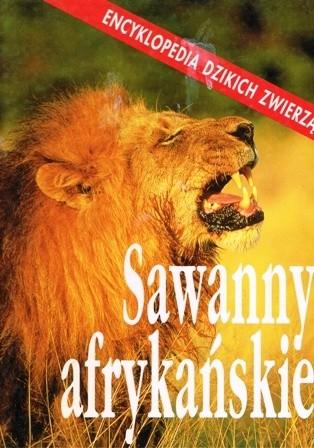Okładka książki Sawanny afrykańskie