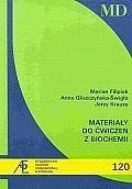 Okładka książki Materiały do ćwiczeń z biochemii