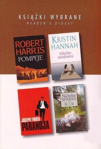 Okładka książki Pompeje; Między siostrami; Paranoja; Ślub
