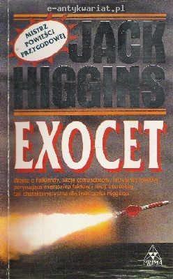 Okładka książki Exocet