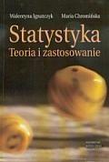 Okładka książki Statystyka. Teoria i zastosowanie