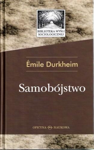 Okładka książki Samobójstwo. Studium z socjologii