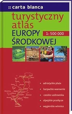 Okładka książki Turystyczny atlas Europy Środkowej