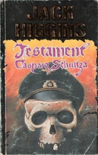 Okładka książki Testament Caspara Schultza