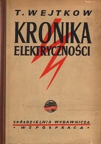 Okładka książki Kronika elektryczności