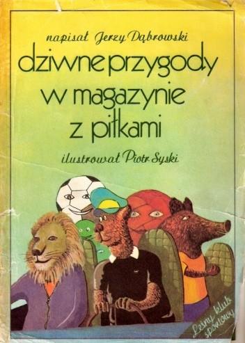 Okładka książki Dziwne przygody w magazynie z piłkami