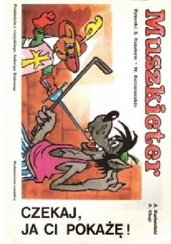 Okładka książki Muszkieter