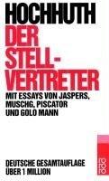 Okładka książki Der Stellvertreter