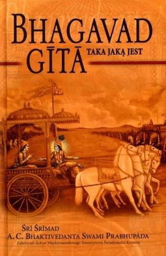 Okładka książki Bhagavad Gita - Taka Jaką jest