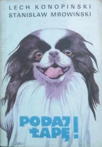 Okładka książki Podaj Łapę!