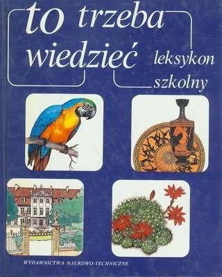 Okładka książki To trzeba wiedzieć : leksykon szkolny