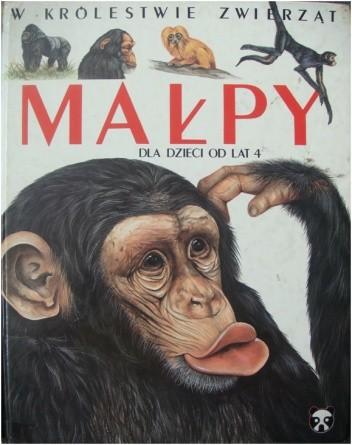 Okładka książki Małpy