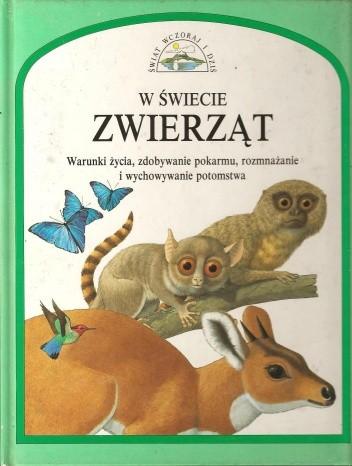 Okładka książki W świecie zwierząt