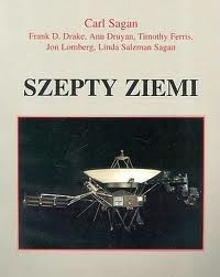 Okładka książki Szepty Ziemi. Międzygwiezdna wiadomość Voyagerów