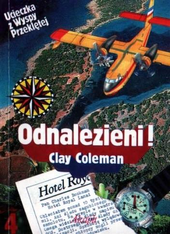 Okładka książki Ucieczka z wyspy przekletej. Odnalezieni