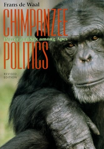 Okładka książki Chimpanzee Politics. Power and Sex among Apes