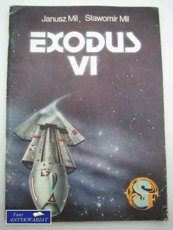 Okładka książki EXODUS VI