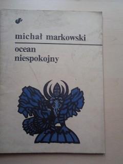 Okładka książki Ocean niespokojny