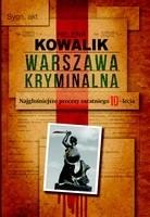 Okładka książki Warszawa Kryminalna