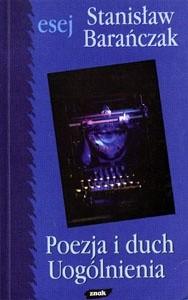 Okładka książki Poezja i duch uogólnienia